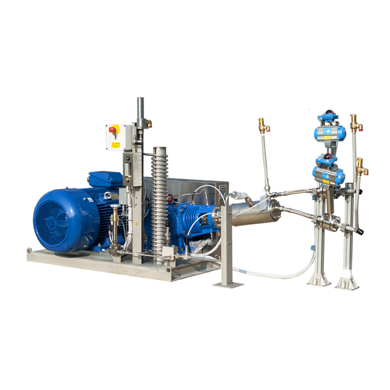 Reciprocating cryogenic pumps MRP