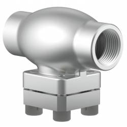 Stainless steel cryogenic strainers