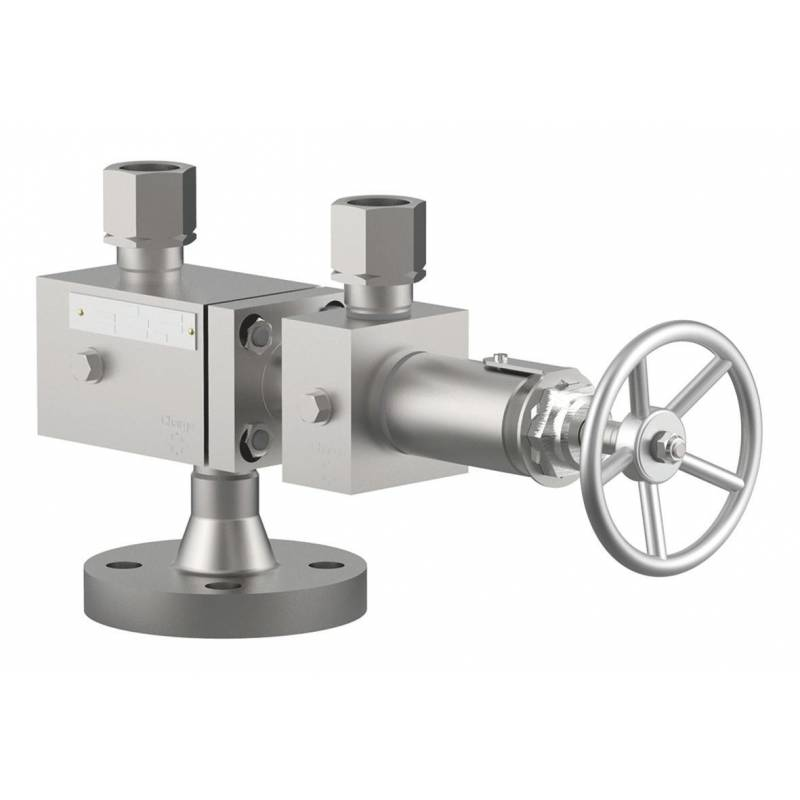 Stainless steel changeover valves