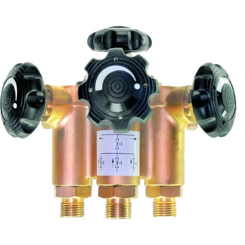 Gas distribution manifold