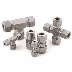 Tube fittings and tube adapters