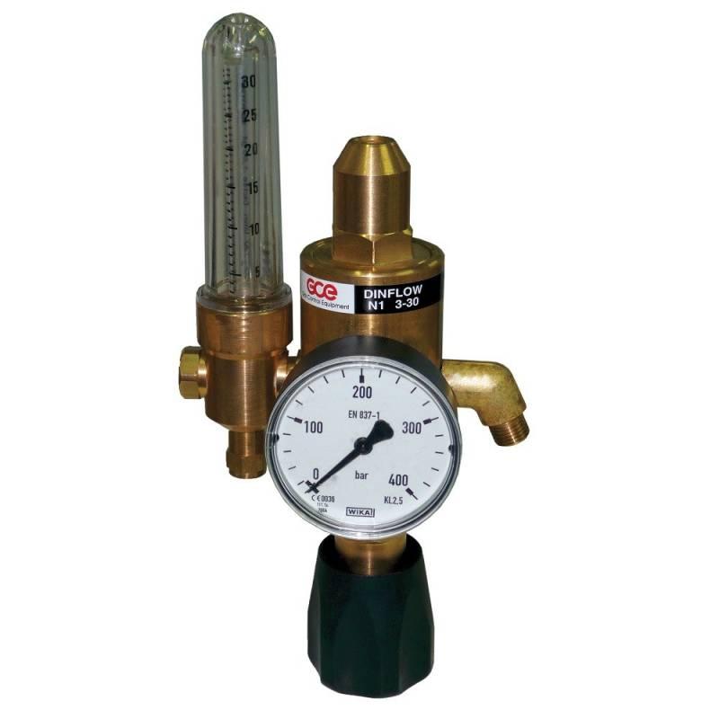 Pressure regulator ECOSAVER with gas saving function