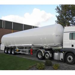 Cryogenic semitrailers-tanks
