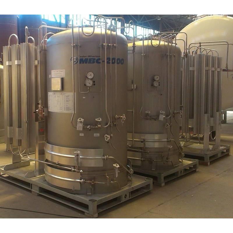Modular cryogenic tanks of MBC series