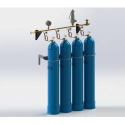 Рампи наповнювальні для технічних газів