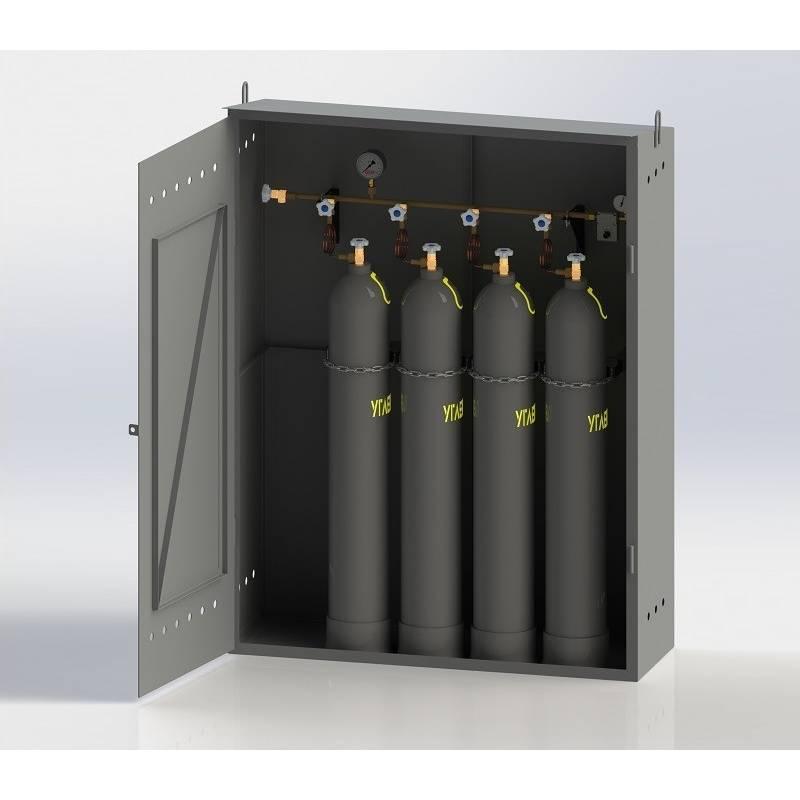 Рампы для технических газов шкафного исполнения