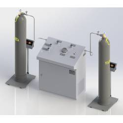 Carbon dioxide cylinders filling station SNBU (М) - 2/7,3