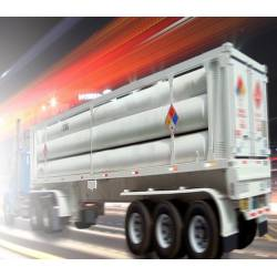 Compressed natural gas storage and transportation containers