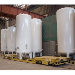 Stationary storage vessels