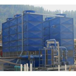 Module cross-flow fan cooling towers of PIRG series