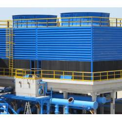 Fan counter flow cooling towers FRPP series
