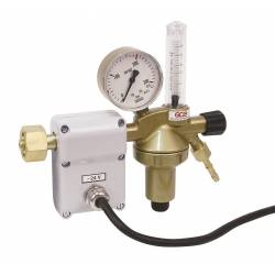 Heated carbon dioxide pressure regulator DINCONTROL