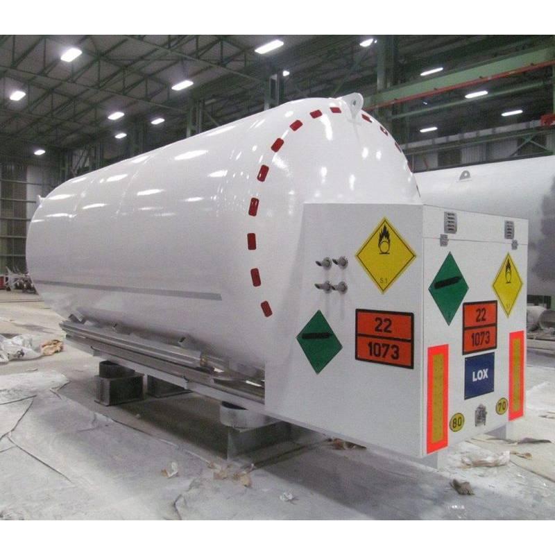 Транспортные криогенные ёмкости объёмом 3 м³