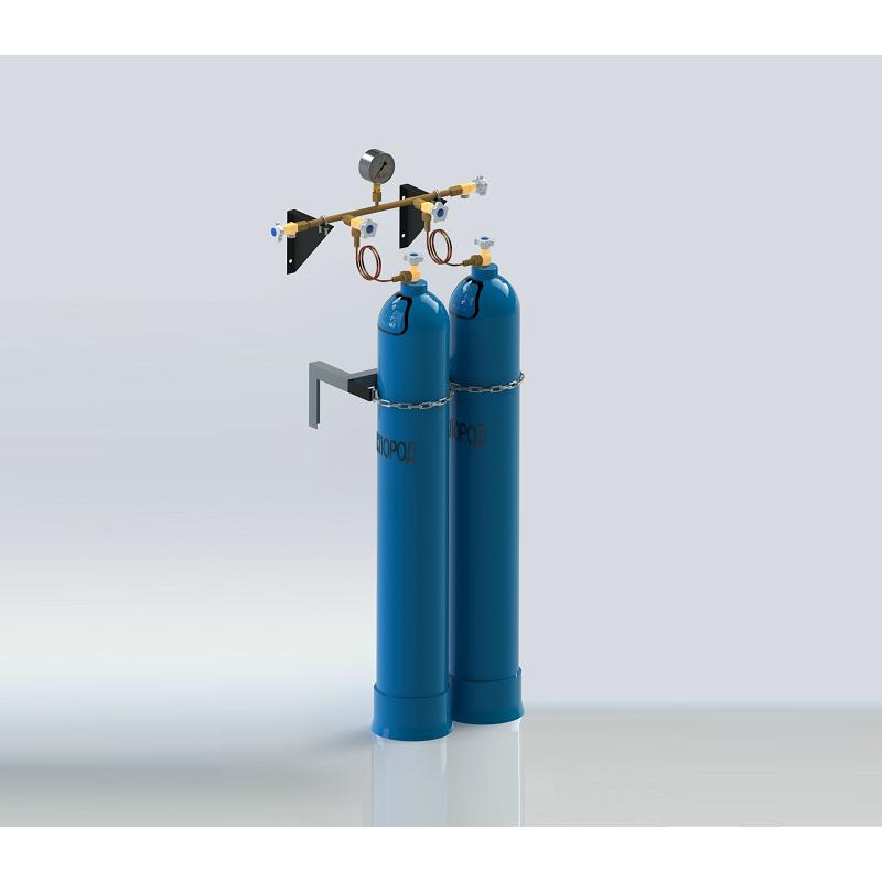Ammonia cylinder discharge manifolds