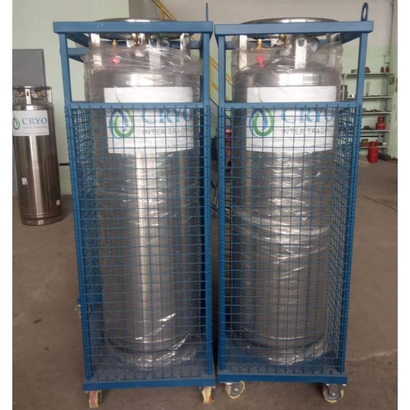 Контейнер для хранения и транспортировки криоцилиндров