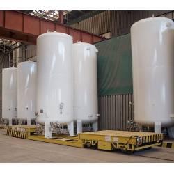 Stationary storage vessels