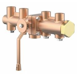 Cryogenic changeover valves