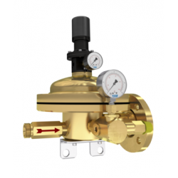 Dome pressure regulators