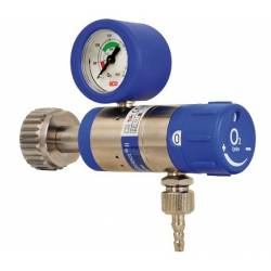Pressure regulators for medicinal gases