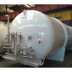 Equipment for storage of cryogenic products