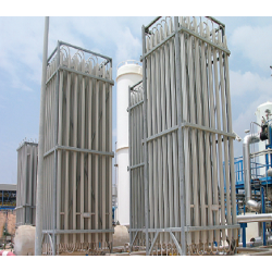 Equipment for cryogenic products gasification