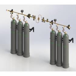 Рампы газовые баллонные и комплектующие