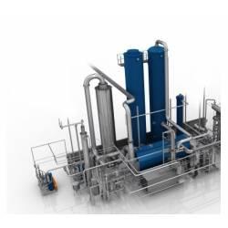 Liquid carbon dioxide production plants